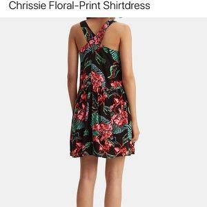 Levi's Chrissie Floral Print Shirtdress DRESS  Sm